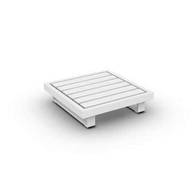 Fano Lounge Base 1-Seat Alu White Mat